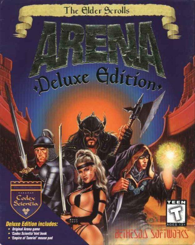 Arena, a computer game in the Elder Scrolls saga, by Bethesda Softworks