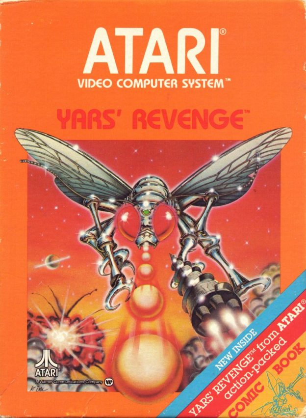 Yar's Revenge, a video game for the Atari 2600 console