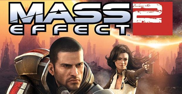 The box art for Mass Effect 2