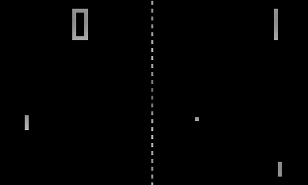 Screenshot of Pong
