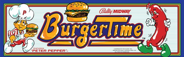 Burgertime, an arcade video game by Bally Midway