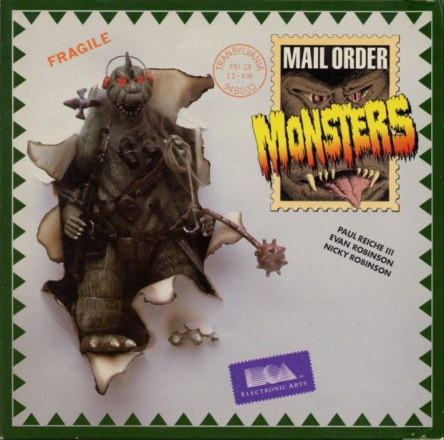 Cover of Mail Order Monsters, a computer video game by EA