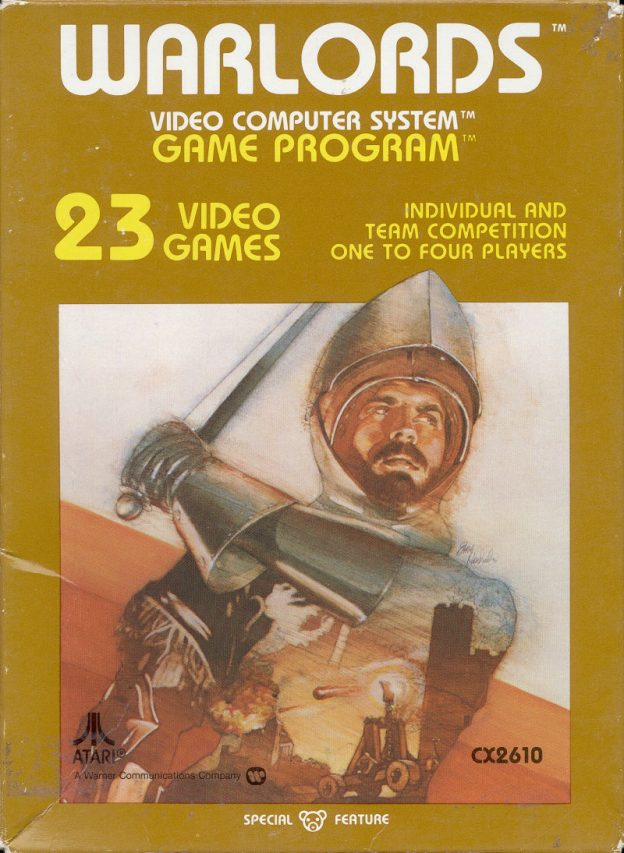 Warlords, a video game for the 2600 by Atari