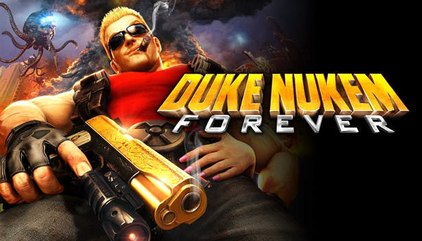 Title for Duke Nukem Forever, a video game by Gearbox