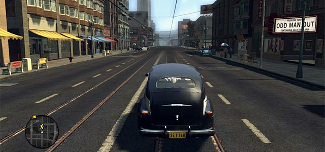 Shot from L.A. Noire, a video game by Rockstar