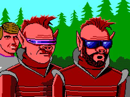 Image from a Space Quest computer game by Sierra