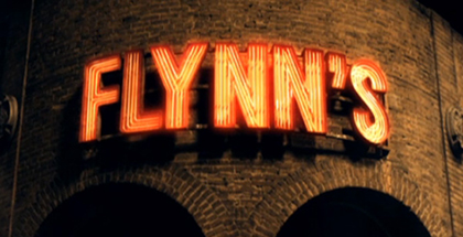 Sign from Flynn's arcade featured in the video game themed movie Tron