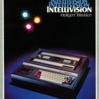 Intellivision, a home video game system by Mattel