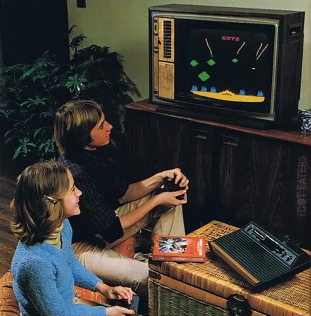 Undated promo photo for the Atari video game system 2600 or VCS