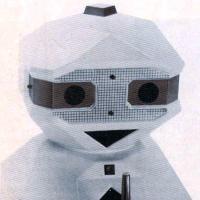 F.R.E.D., a home robot developed by Nolan Bushnell's Androbot