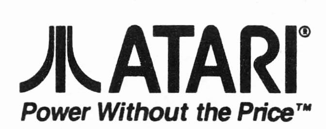 Slogan for Atari, a video game and computer company