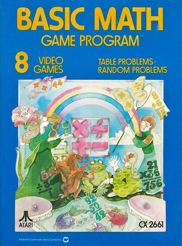 Basic Math, a game for the Atari VCS home video game console