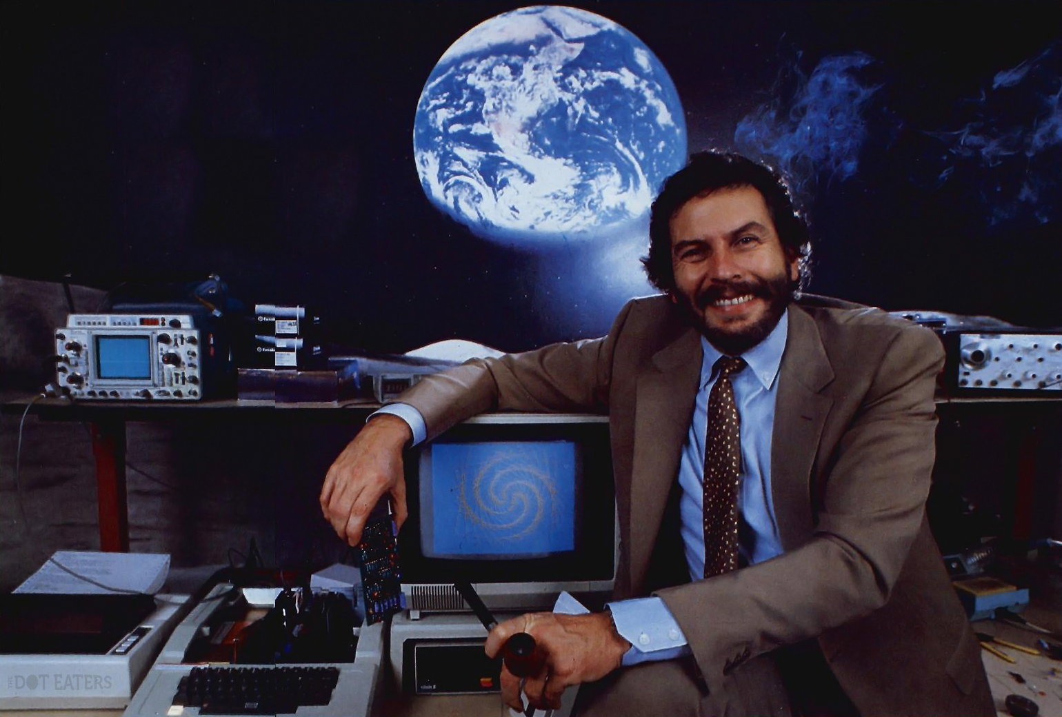 1984 image of Nolan Bushnell at Catalyst Technologies