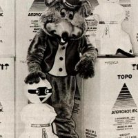 Chuck E. Cheese and Topo by Androbot