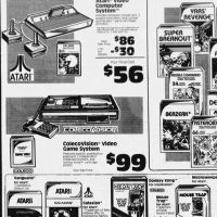Discounts on video game consoles and games, Chicago Tribune Feb 16, 1984