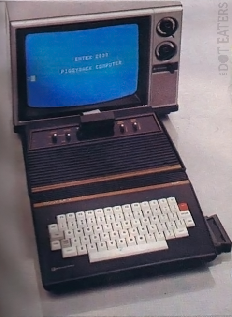 Entex Piggyback, a computer expansion add-on for the 2600, a video game console by Atari