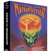 Escape from the Mindmaster, a video game for the SuperCharger addon for the Atari 2600 video game console