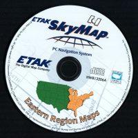 SkyMap, a PC map program by Etak, financed by Nolan Bushnell