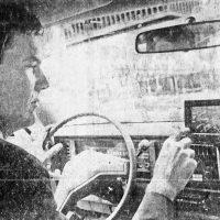 Etak car navigation system, bankrolled by Atari founder Nolan Bushnell