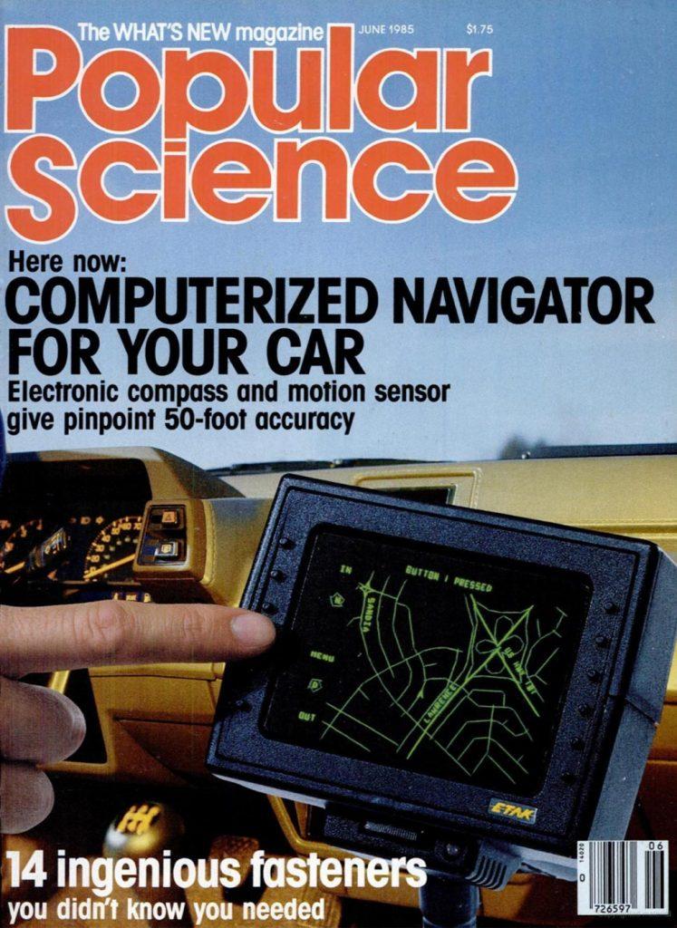 Etak auto navigation system