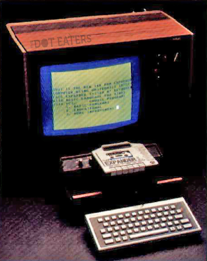 Unitronics Expander, a computer add-on for the 2600, a home video game console by Atari