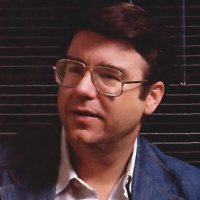 William Meister, president of CVC, an online home video game company, 1983