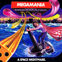 Ad for Megamania, a home video game by Activision 1982