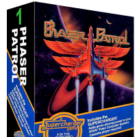 Phaser Patrol, a video game for the SuperCharger addon for the Atari 2600 video game console