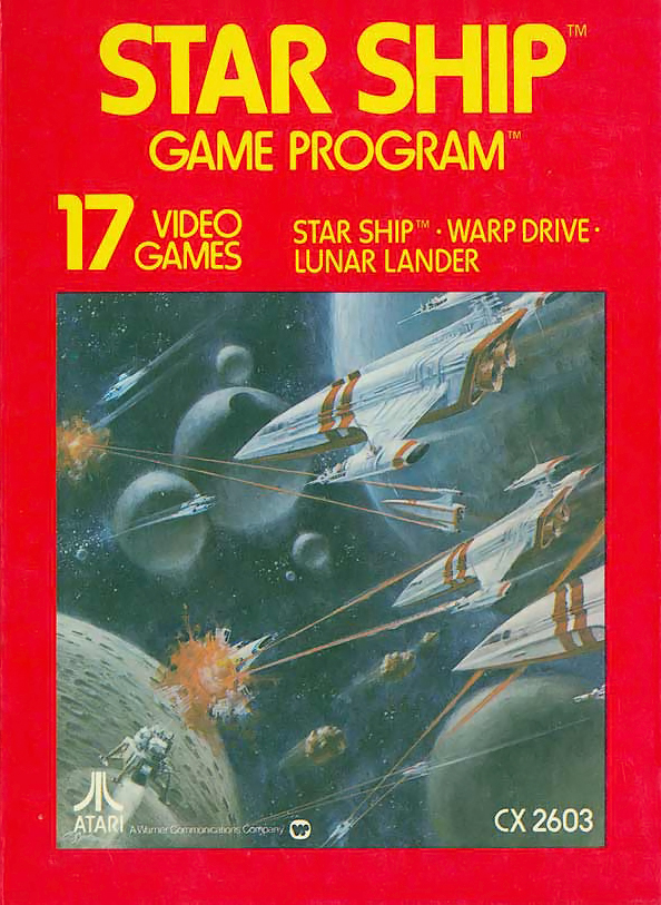 Star Ship, a game for the Atari VCS home video game console