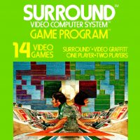Surround, a video game for the Atari VCS game console