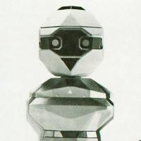 Topo, a consumer robot from Nolan Bushnell and Androbot (1983).