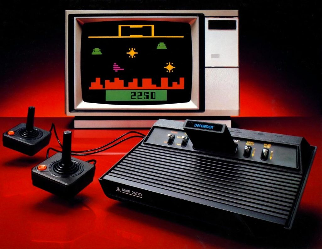The Vader version of the 2600, a home video game console by Atari