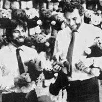 Apple co-founder Steve Wozniak and Atari founder Nolan Bushnell