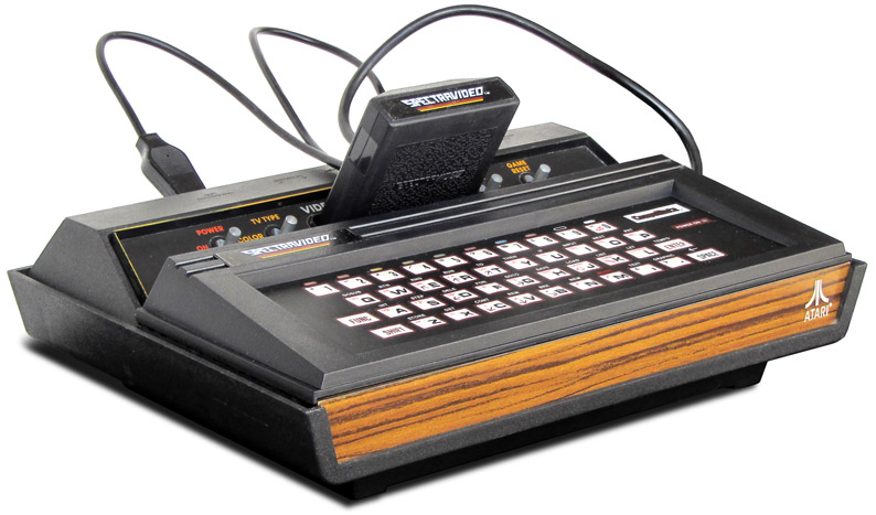 CompuMate, a computer add-on for the Atari VCS/2600, 1983