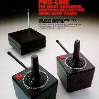 Ad for the Atari 2600 wireless controllers 1983