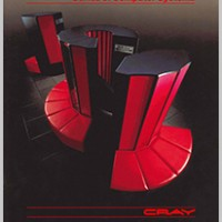 Image from a sales brochure for the X-MP, a supercomputer by Cray Research 1982