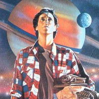 Box art for The Last Starfighter, a video game for the NES