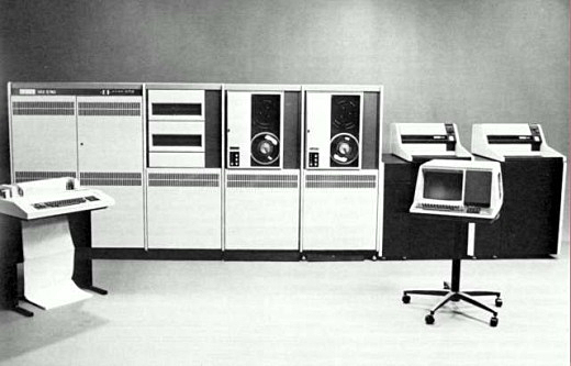 Image of the VAX 11/782, a mainframe computer by DEC 1982