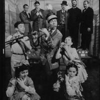 Publicity photo featuring Robert Preston in The Music Man, Warner Bros. 1962