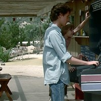 Still featuring Lance Guest and Chris Hebert in The Last Starfighter, a video game themed movie by Universal 1984