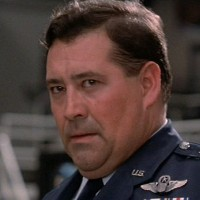 Actor Barry Corbin as Gen. Beringer in WarGames, a video game themed movie by MGM/UA 1983