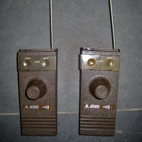 Wireless controllers for the CX-2700, a home video game console by Atari 1981 (unreleased)