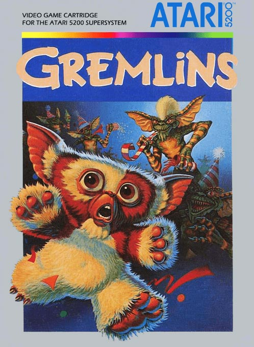Gremlins, a video game for the Atari 5200 game console