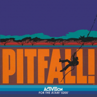Pitfall!, an Activision video game for the Atari 5200