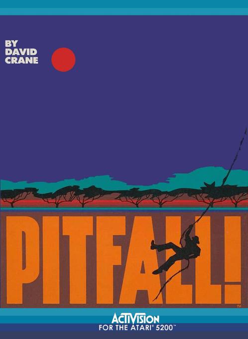Pitfall!, an Activision video game for the Atari 5200