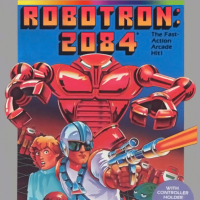 Robotron: 2084, a video game for the Atari 5200