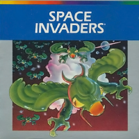 Space Invaders, a video game for the Atari 5200