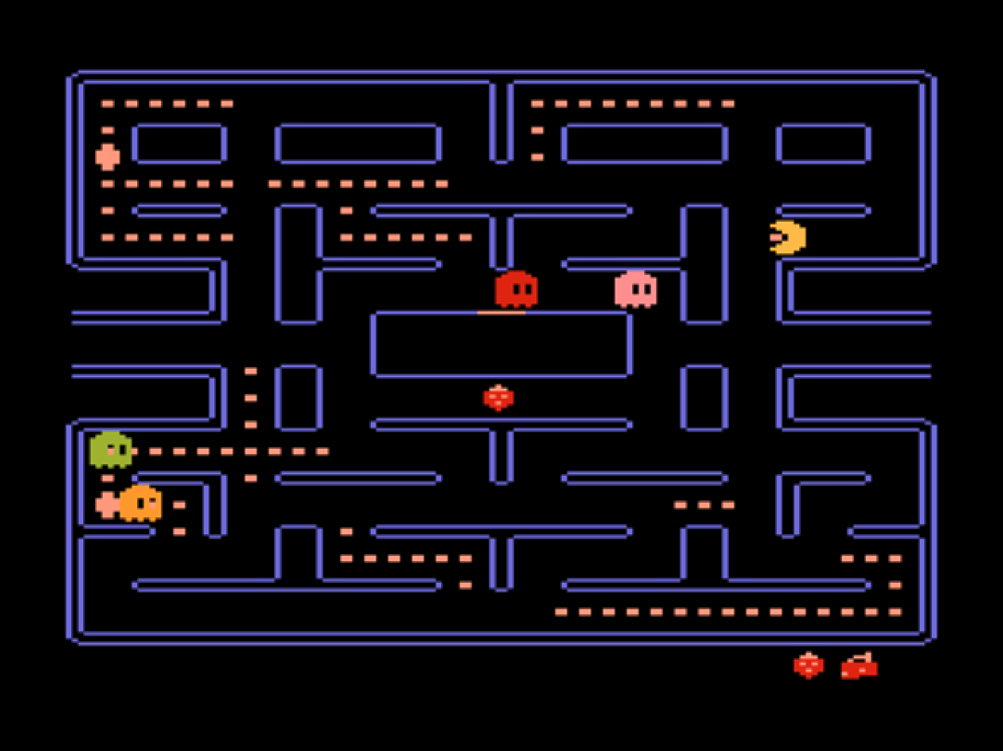 Image of Pac-Man for the 5200, a home video game by Namco/Atari 1982