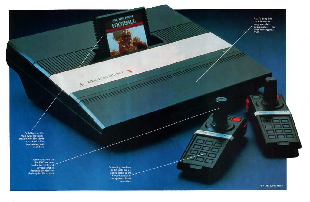 Image of the Video System X, aka the 5200 Supersystem, a home video game by Atari 1982