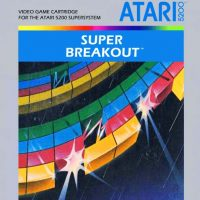Super Breakout, a game for the Atari 5200 SuperSystem video game console